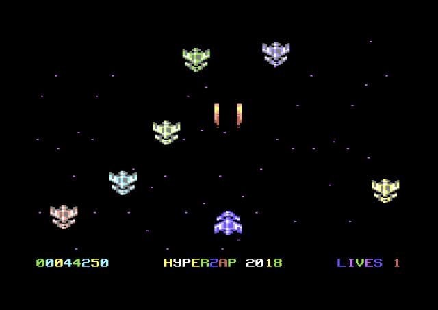 Hyperzap 2018 (C64)